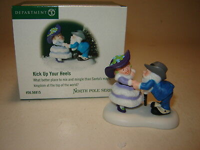 Dept 56 North Pole Accessory - Kick Up Your Heels
