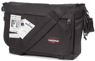 182251530d NEW EASTPAK DELEGATE Messenger Shoulder Bag H30 x L38.5cm - Black - EUR  39,37 | PicClick IT