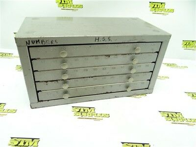 Loaded Huot Number Drill Bit Index Bench Top 1-60