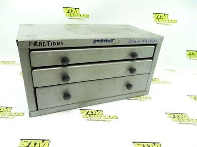 """Loaded Huot Fractional Drill Bit Index Bench Top 1/16"""" To 1/2"""" Screw Machine"""