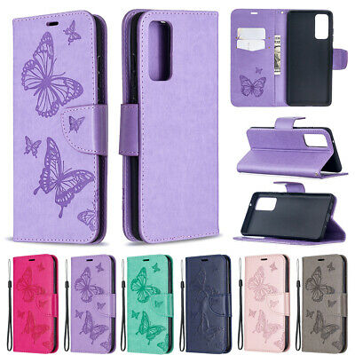 Bling Flip Leather Wallet Phone Case Cover For Samsung Galaxy S10+/S9/S8/Note 9