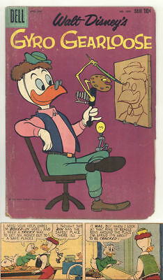 1960 GYRO GEARLOOSE Dell 4-color #1095 all CARL BARKS comic book