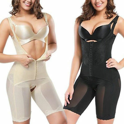 Women Full Body Shapewear Waist Trainers Tummy Control Slimming Bodysuit Shaper