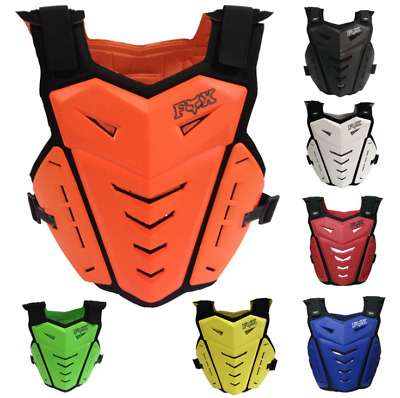 Mens Fox Racing Proframe LC MX/ATV Dirt Motorcycle Armor Roost Guard Deflector