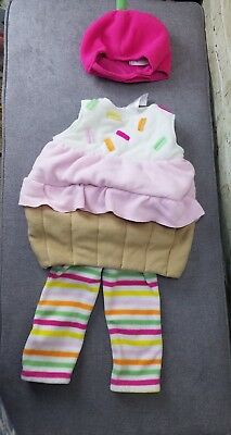 Old Navy Cupcake Costume size 12 - 24months  3 pieces