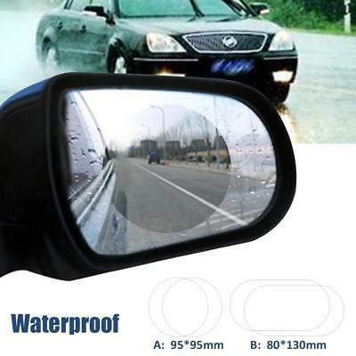 2pcs Waterproof Rainproof Anti Fog Film For Car Motorbike Rearview Mirror