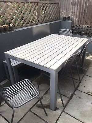 IKEA Falster Garden Table And Bench
