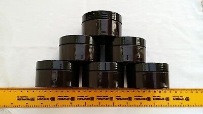 100ml Empty brown plastic slime, body butter, cream jar/container 5,10,20,40,50