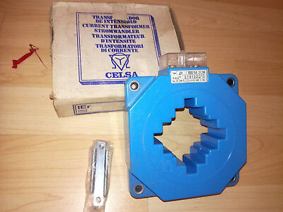 Celsa Stromwandler IEr 1000/5A SF17 Schutzstromwandler Current Transformer NEW