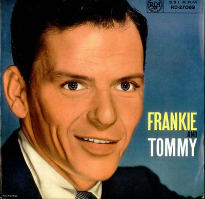 Frank Sinatra Frankie And Tommy UK vinyl LP album record RD-27069 RCA 1959