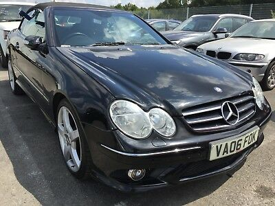 06 Mercedes Clk320 Cdi  Sport Cabriolet, Leather, 7 Speed Lovely Low Miles 88K