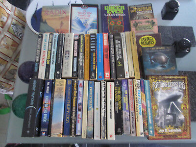 Job Lot, Collection of Science Fiction / Fantasy paperbacks ... some rare