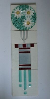 ° GREAT Panel Set 4 x SERVAIS - DTAG TILE Art Nouveau Jugendstil