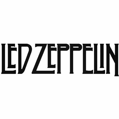 Led Zeppelin Vinyl Decal - Car Oracal Sticker music lead rock and roll die cut