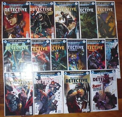 Batman Detective Comics #949 - 962  Comic Lot Dc Rebirth 1St Print  Vf/nm