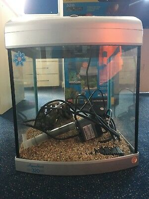 AquaStart 320 fish tank, used briefly but in very good condition