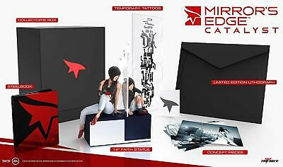MIRROR'S EDGE CATALYST COLLECTORS EDITION (No Game) - Brand New And Sealed