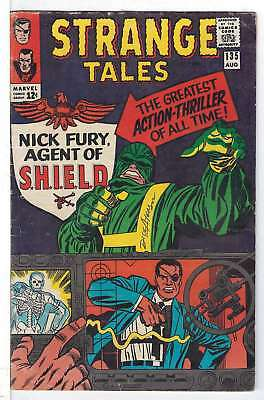 Strange Tales (Vol 1) # 135 (VG+) (Vy Gd Plus+)  RS003 Marvel Comics ORIG US