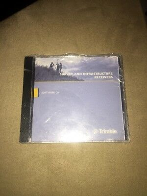 Trimble Business Center Survey And Infrastructure Receivers Software DVD*