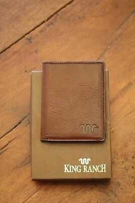 New In Box King Ranch Wallet Saddle stich