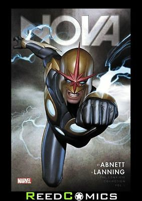 NOVA BY ABNETT AND LANNING COMPLETE COLLECTION VOLUME 1 GRAPHIC NOVEL *504 Pages