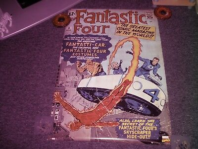 fantastic four poster rare marvel comic new us the