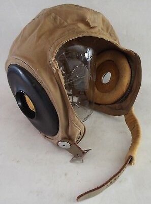 WWII U.S. Air Force Pilots Medium Summer Flying Helmet