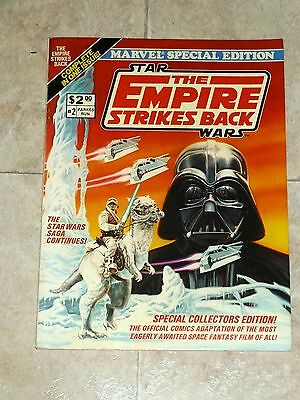 MARVEL SPECIAL EDITION # 2 Star Wars The EMPIRE STRIKES BACK Oversize 100 Pages