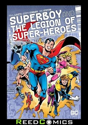 SUPERBOY AND THE LEGION OF SUPERHEROES VOLUME 2 HARDCOVER (448 Pages) Hardback