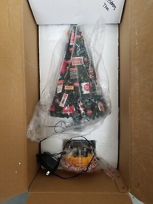 Danbury Mint Coca Cola Christmas Tree