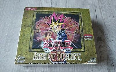 Yu-Gi-Oh Display Rise Of Destiny, 1st Edition, Sealed, Eng, Ovp, Booster, RDS