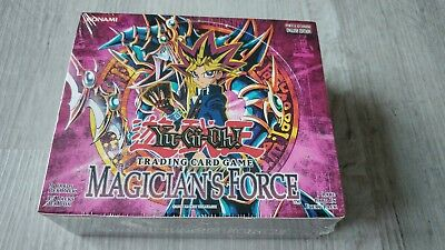 Yu-Gi-Oh 36er Display Magician's Force, Sealed, Eng, Ovp, Booster, MFC