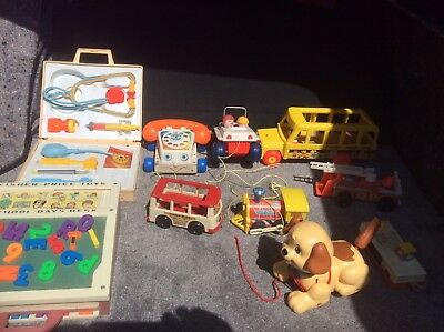 VINTAGE FISHER PRICE TOYS Massive Job Lot Amazing Deal