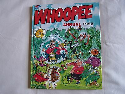 WHOOPEE ANNUAL 1992 Fleetway Hardback VERY GOOD CONDTIION