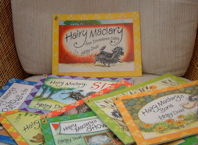 Set of 8 HAIRY MACLARY books by Lynley Dodd - very good pre-owned