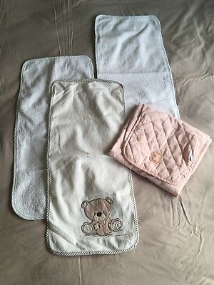 Mothercare Baby Changing Mat Liners Towels