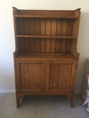Antique American Step-back Cupboard/Display Cabinet
