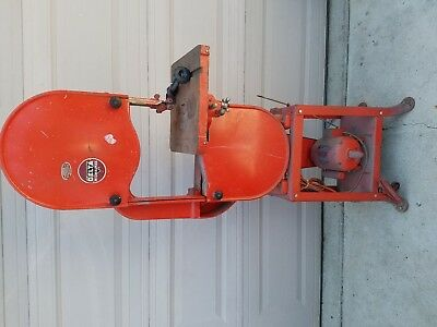 "Vintage Delta Rockwell 14""  Band Saw with 1/3 w original Motor and Stand"