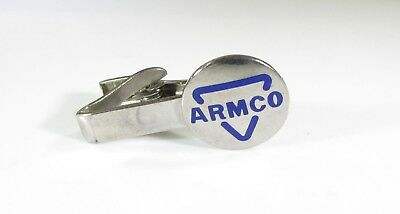 Vintage ARMCO Tie Clip Historical American Rolling Mill Company Ohio