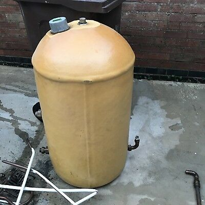 HOT WATER TANK Copper Cylinder 150L Litre 900mm X 450mm + Immersion ...