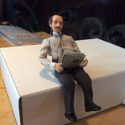 Dollhouse Gentleman Doll By Delores Cole