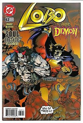 Lobo # 63 / Hard To Find 2nd To Last Issue / Demon / 1999