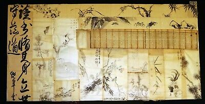15x 19C/20C Japanese Mixed Lot Paintings, Drawings, Calligraphies (HMA) #1983