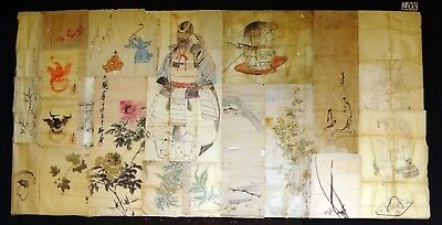 20x 19C/20C Japanese Mixed Lot Paintings, Drawings, Calligraphies (HMA) #2002