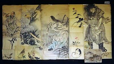 15x 19C/20C Japanese Mixed Lot Paintings, Drawings, Calligraphies (HMA) #2010