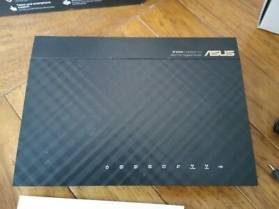 ASUS Router (RT-AC66U) Dual-band 3x3 AC1750 WiFi Router + 3x extra 8dBi antennas