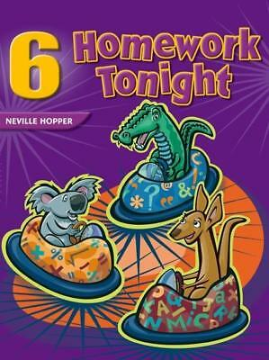 NEW Homework Tonight Book 6 By Neville Hopper Paperback Free Shipping