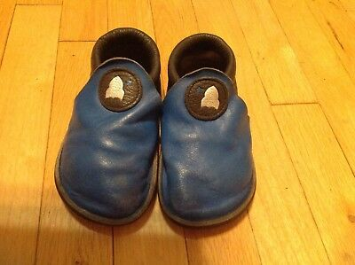 Soft Star Shoes Childs Rambler size 11 Blue and Gray