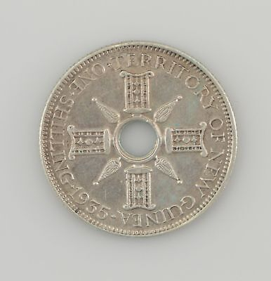 1935 Territory of New Guinea One Shilling (PEE07)