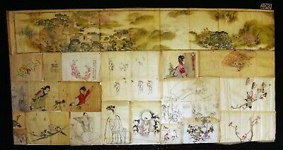 20x 19C/20C Japanese Mixed Lot Paintings, Drawings, Calligraphies (HMA) #2043